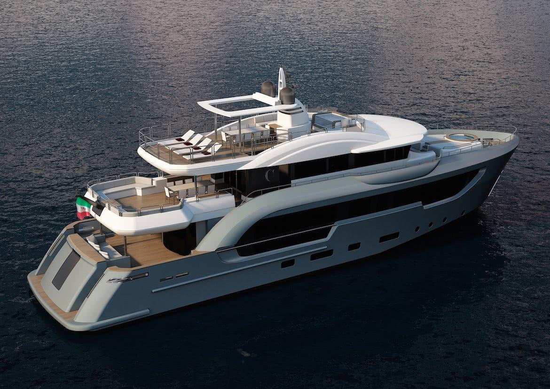 Berlinetta Motor Yacht Design