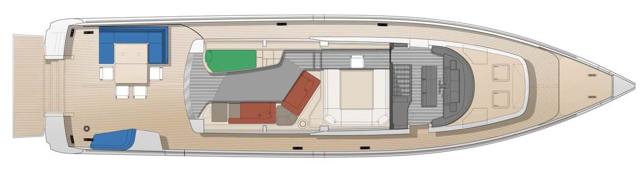 Motor Yacht BILL AND ME Baltic Yachts Layout