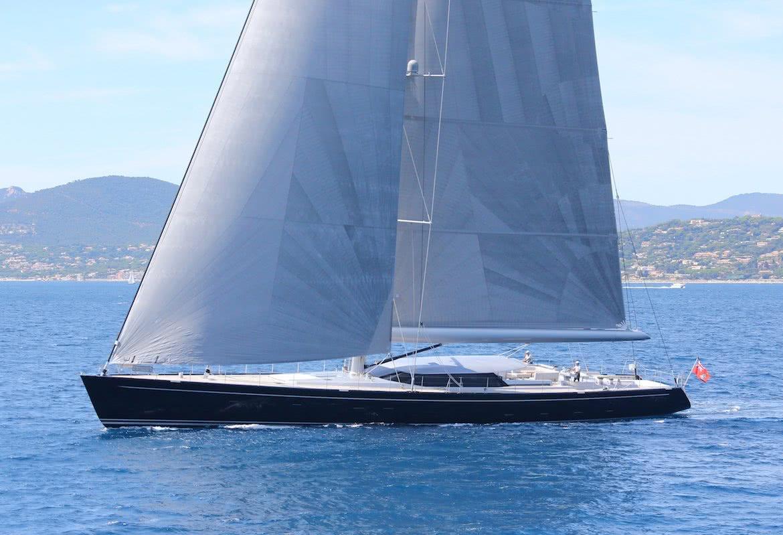 Blue Papillon Yacht Royal Huisman