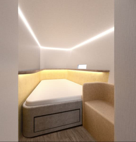 Cool Breeze Yacht Interior Brenta 80 DC