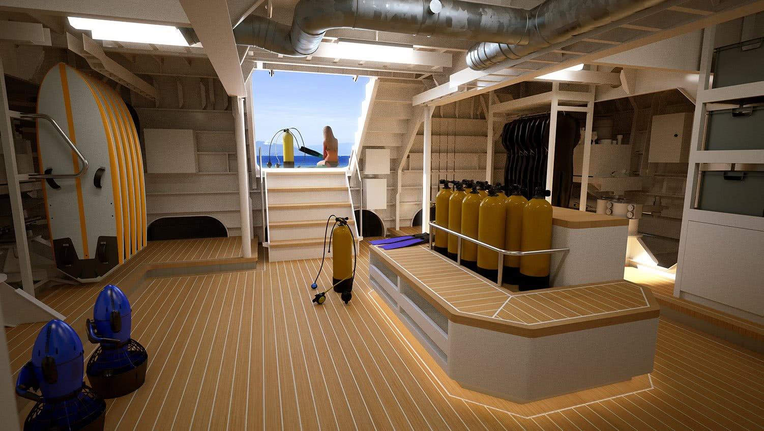 Power Play Damen Yacht Support Vessel Diving Center