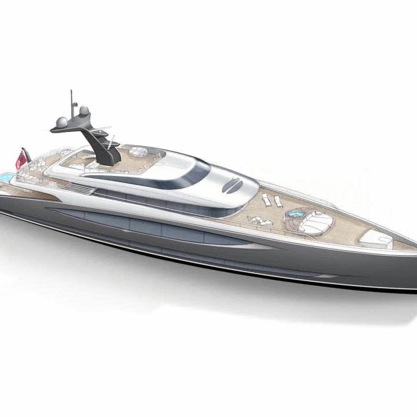 Dart 65 Motor Yacht Design Royal Huisman Winch