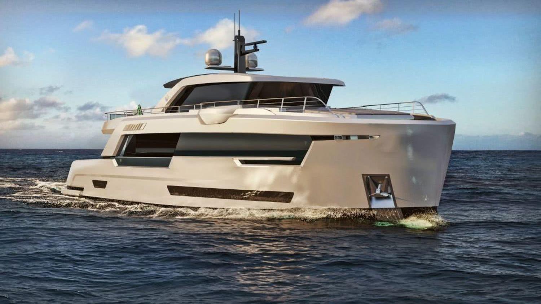 Ducale 88 Ocean King VYD Studio Explorer Yacht Design