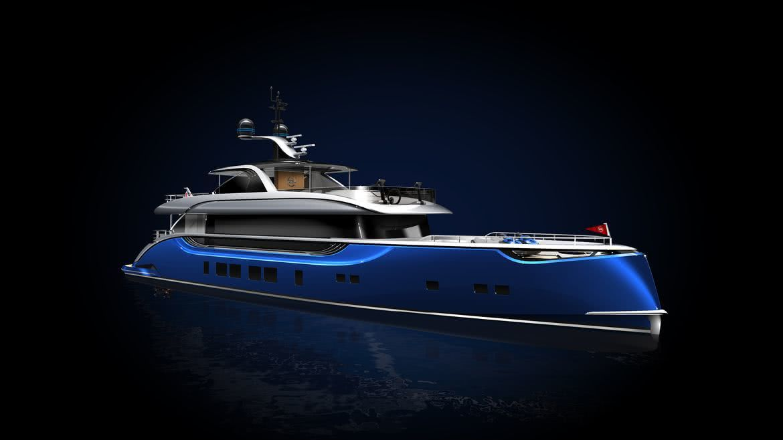 Dynamiq GTT Motor Yacht