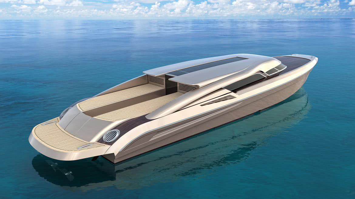 Endeavour 23m Limo Tender