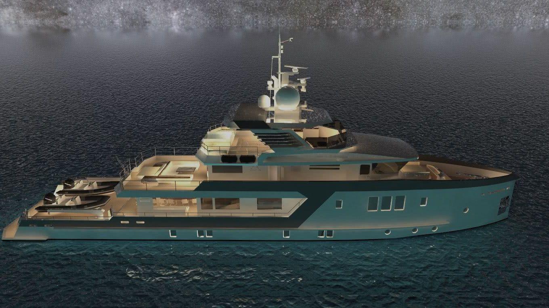 Enigma 40m Explorer Yacht Mehmet Fatih Umut