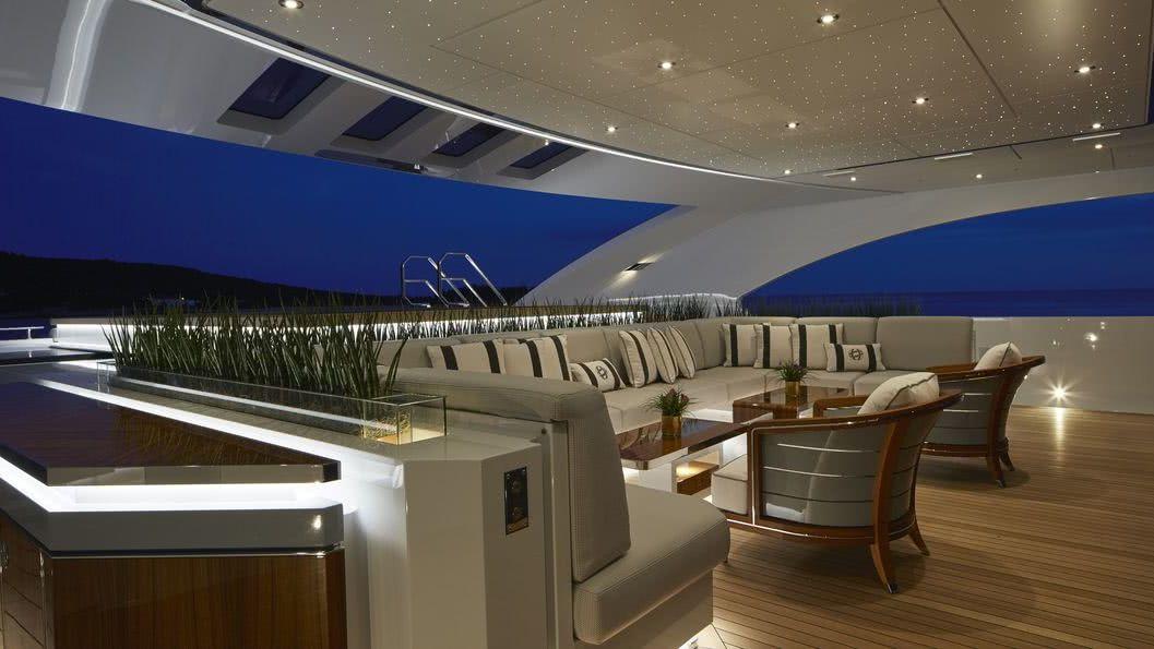 Galactica Super Nova Yacht Interior Heesen