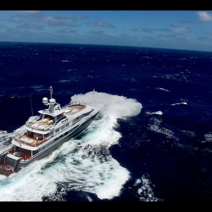 Gene Machine Yacht Amels 180
