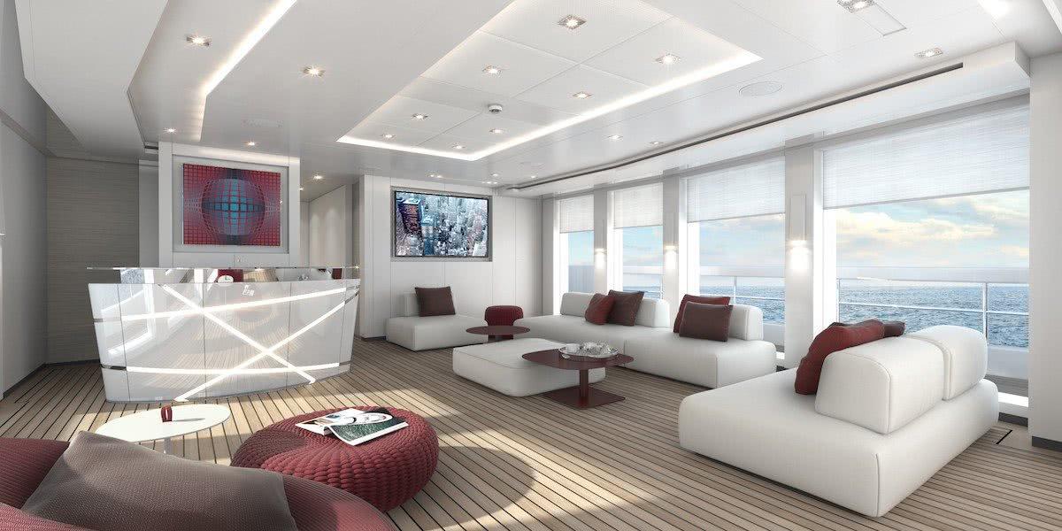 Nova Heesen Hybrid Yacht Interior