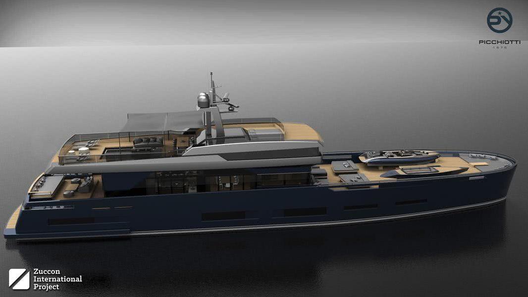 Heritage Motor Yacht Design Zuccon International Project Gerhard Gilgenast