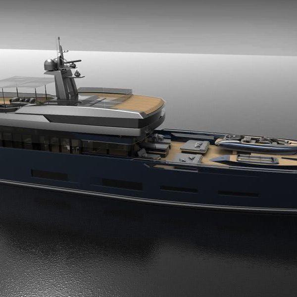 Heritage Motor Yacht Design Zuccon International Project