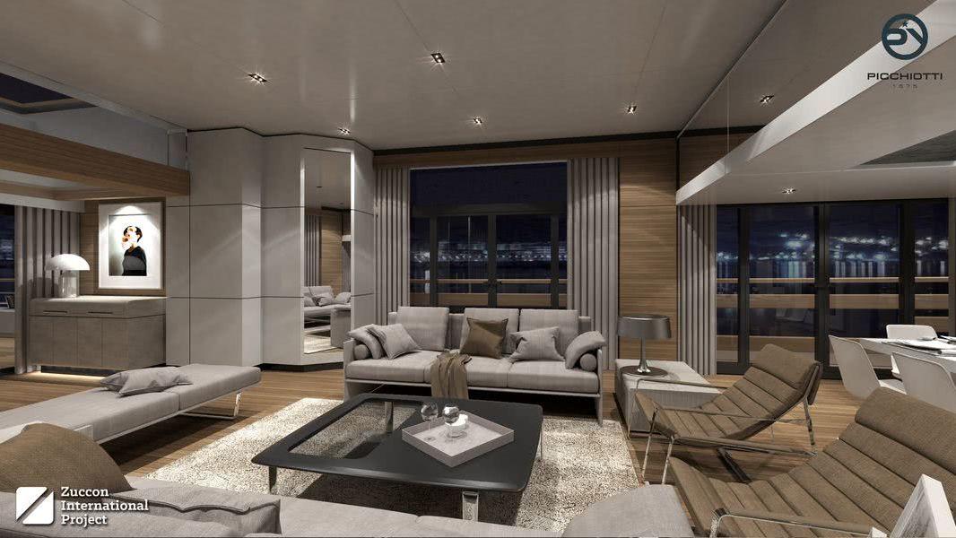 Heritage Motor Yacht Design Zuccon International Project Interior
