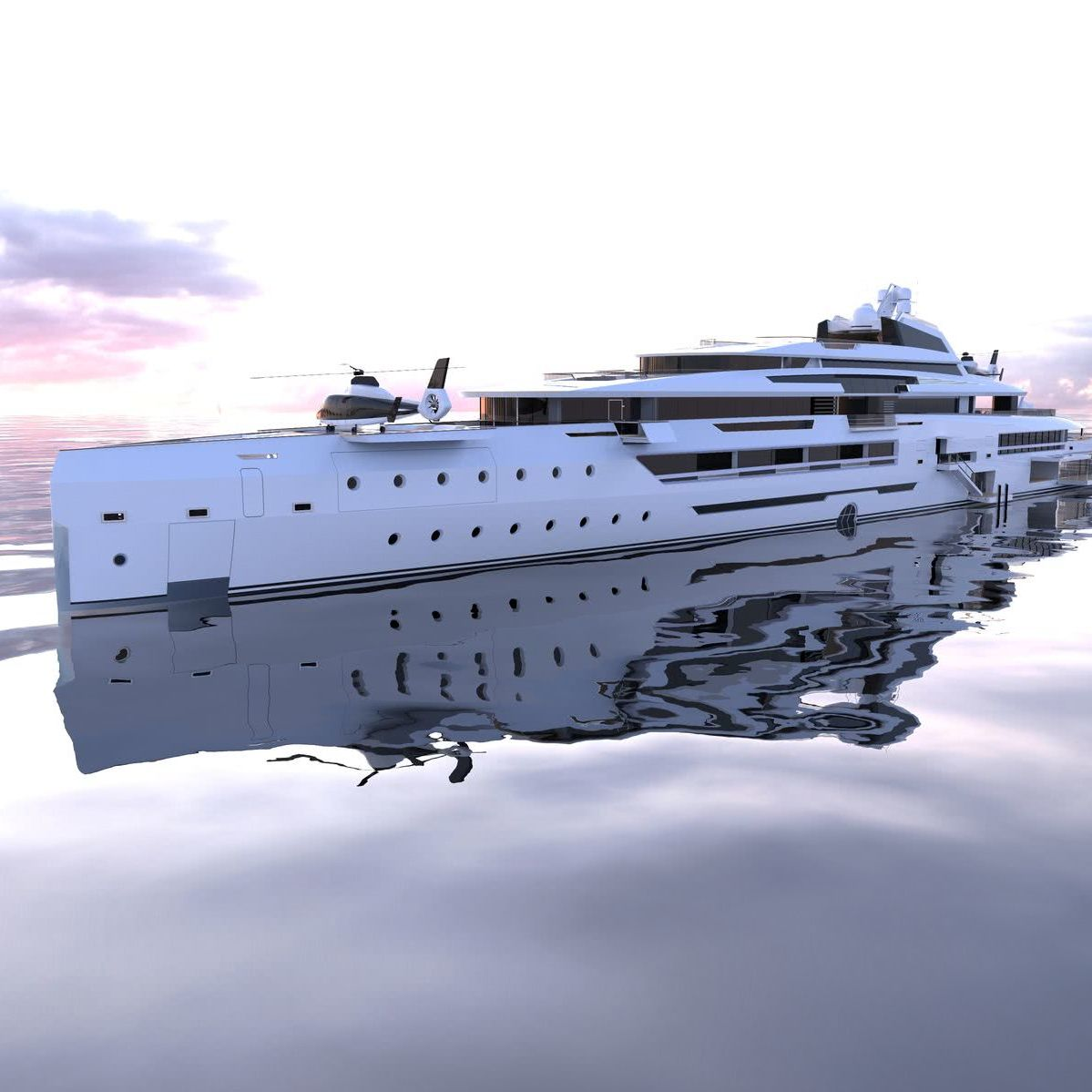 Ines Alvaro Aparicio de Leon Motor Yacht Design