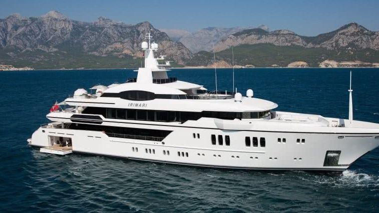 Irimari Yacht Espen Oeino
