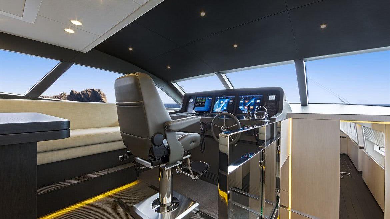 Jangada Yacht Interior Van der Valk Shipyard