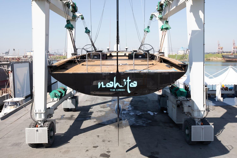 Sailing Yacht Nahita Wally Sail