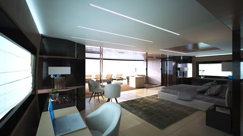 OCEANEMO 55 Yacht Interior Design