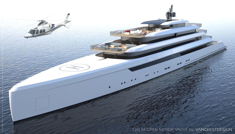 Open 120 Yacht Van Geest Design