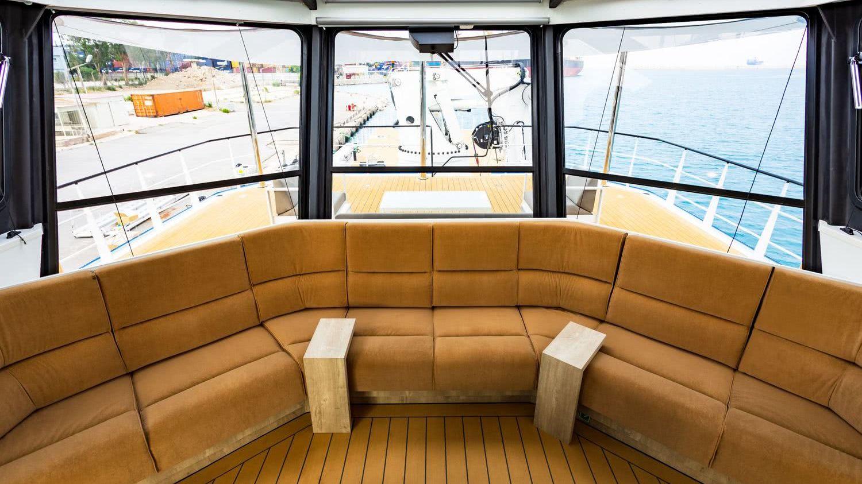 Power Play Damen Yacht Support Vessel Interior