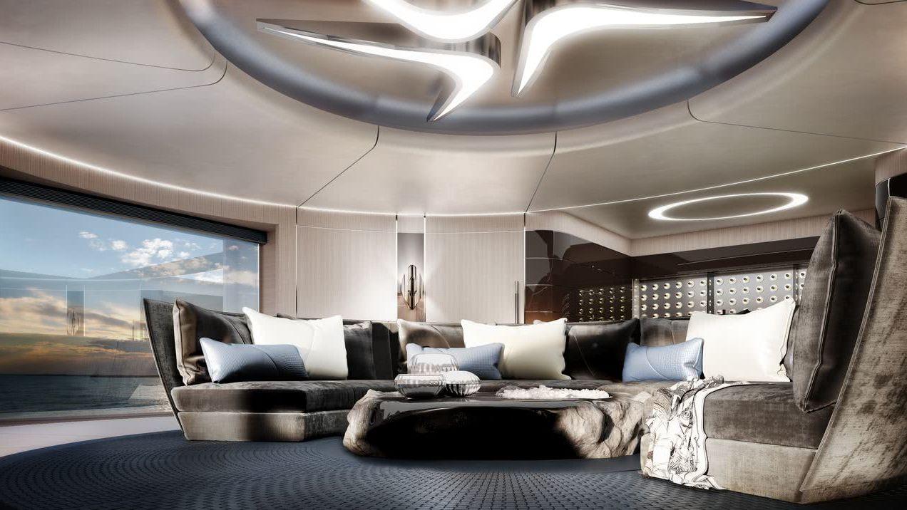 Progetto Bolide Motor Yacht Interior Design