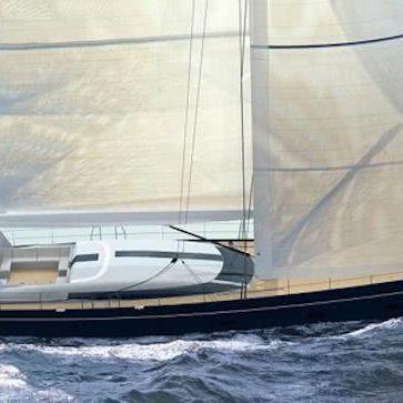 40m Sailing Yacht Philippe Briand