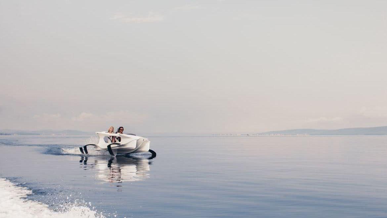 Quadrofoil Foiling Boat