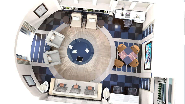 Motor Yacht BOOK ENDS Interior Design Heesen Yachts