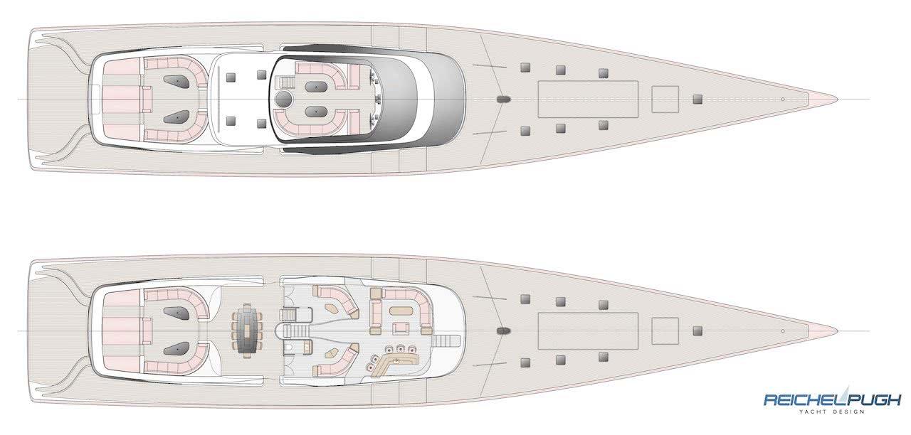 Reichel/Pugh 55m Performance Sailing Yacht Design