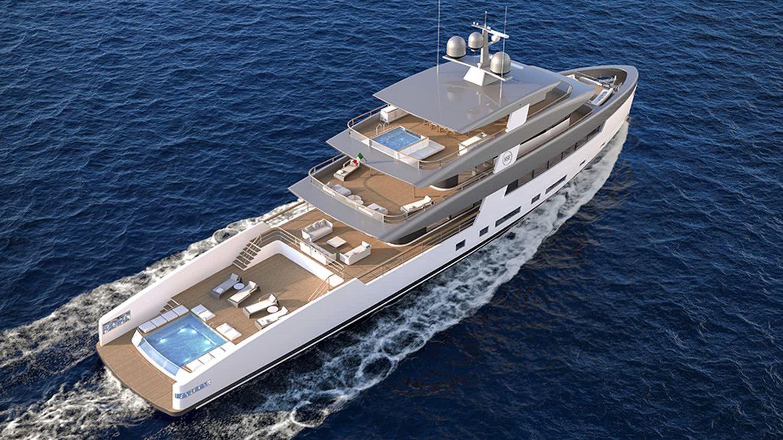 Rosetti Superyachts 50m Motor Yacht