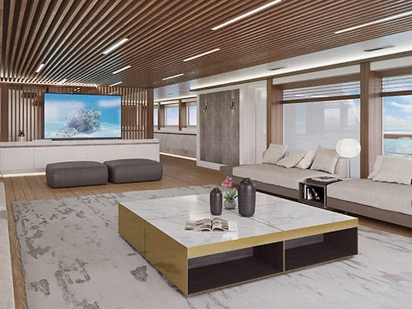 Rosetti Superyachts 50m Motor Yacht Interior