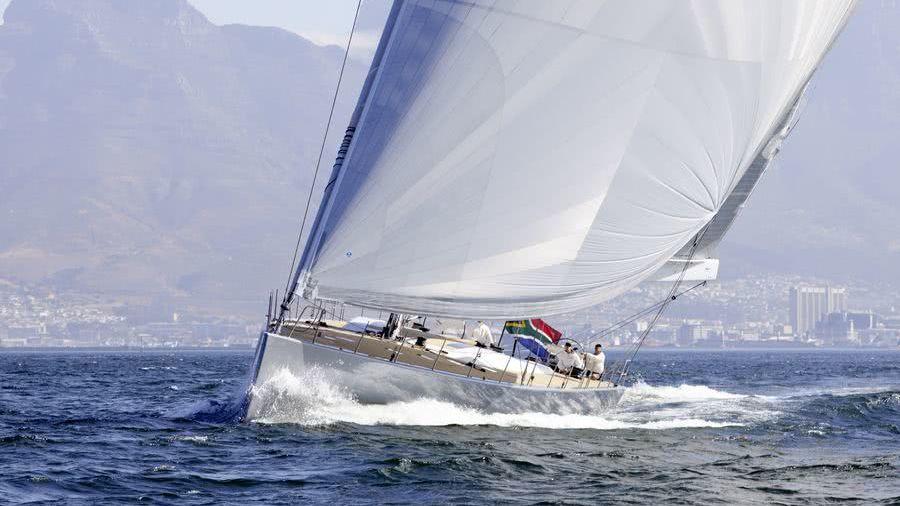 All-Smoke Sailing Yacht Southern Wind Shipyard Reichel/Pugh