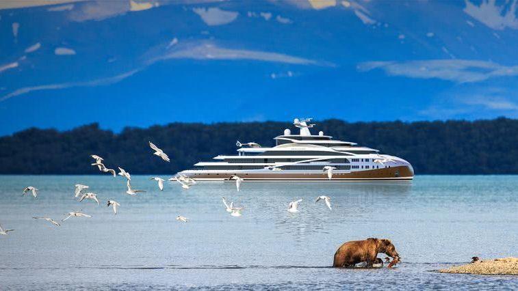 Sea Hawk 103m Hawk Yachts Ice Class Yacht