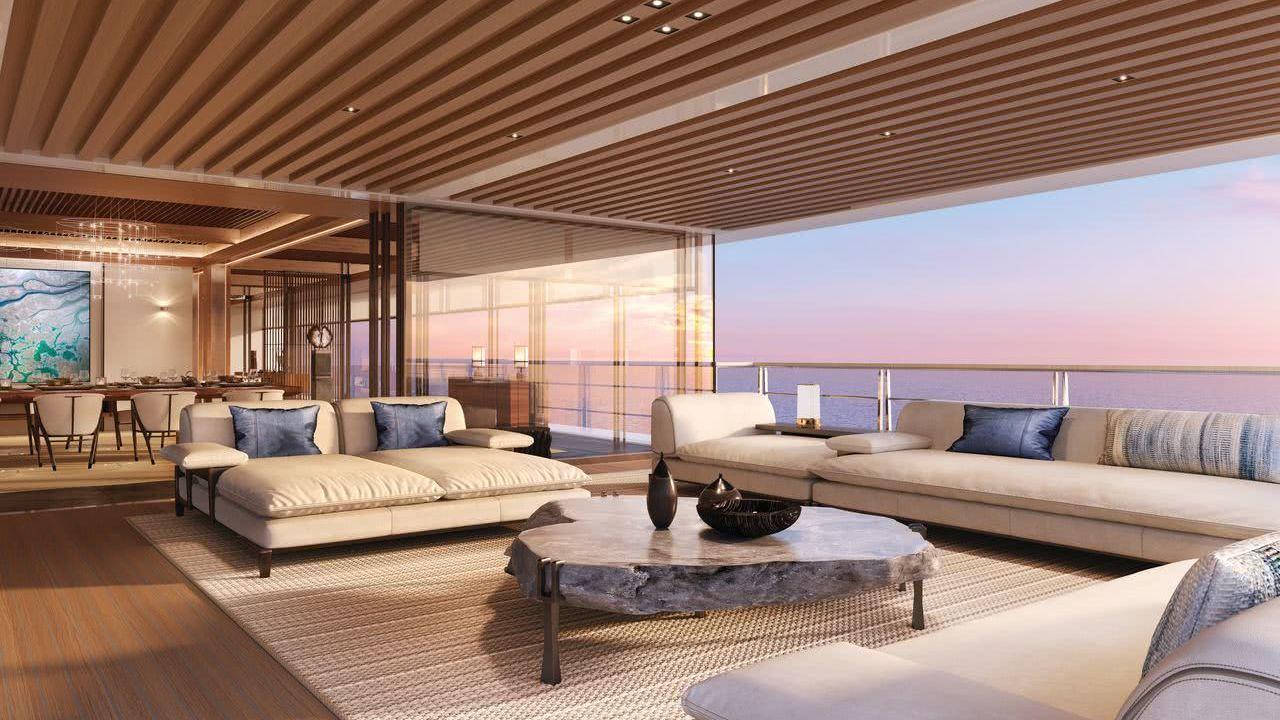 Project Nature Motor Yacht Sinot Interior Design