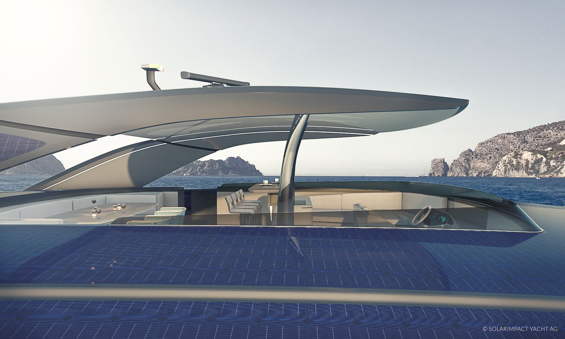 Solarimpact Electric SWATH Yacht