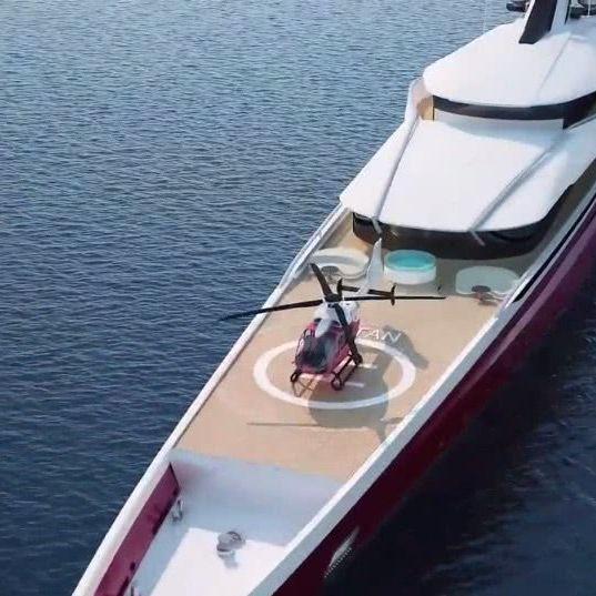 Titan Phi Oceanco Yacht