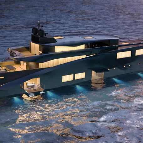 Motor Yacht Design Tuxedo Satura Studio