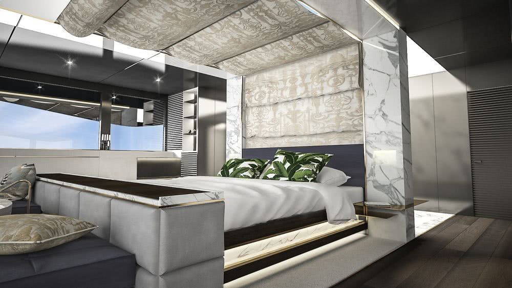 Motor Yacht Design Tuxedo Satura Studio Interior