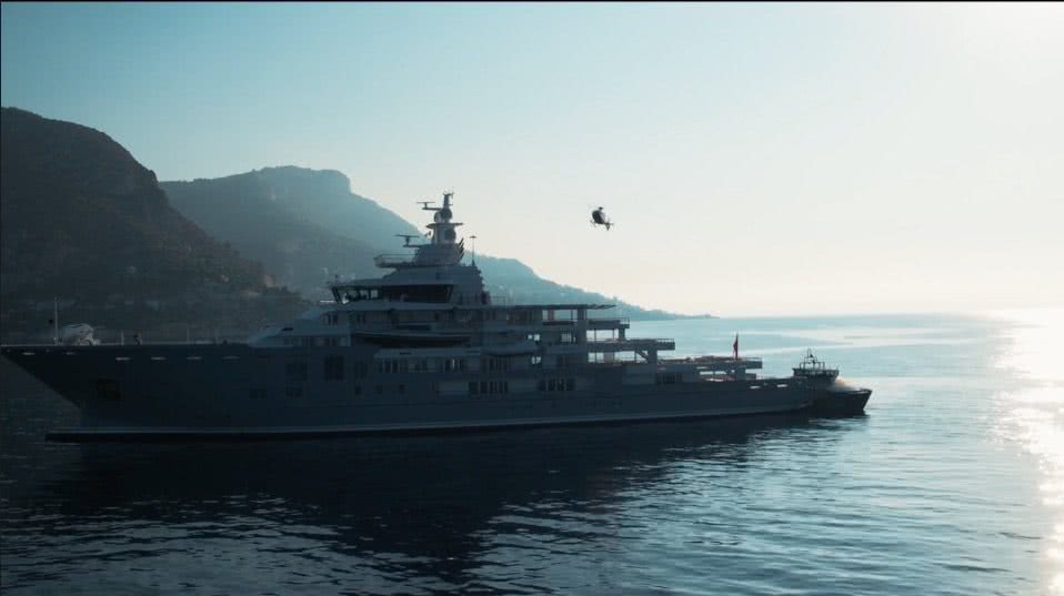 Andromeda Yacht Video