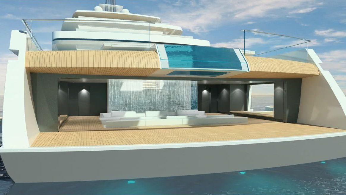 Acquaintance Yacht Interior Oceanco Vitruvius