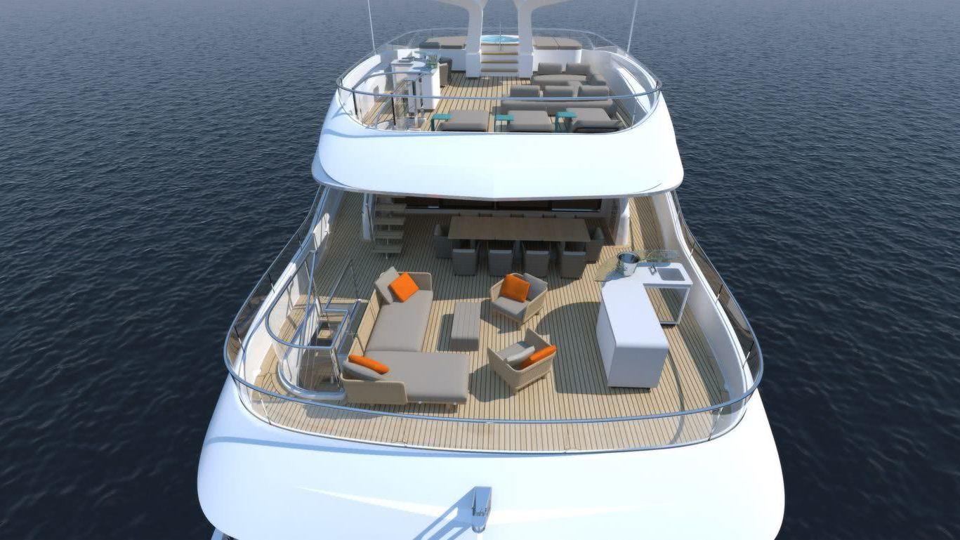WIDER 165 Cecilia Hybrid Motor Yacht