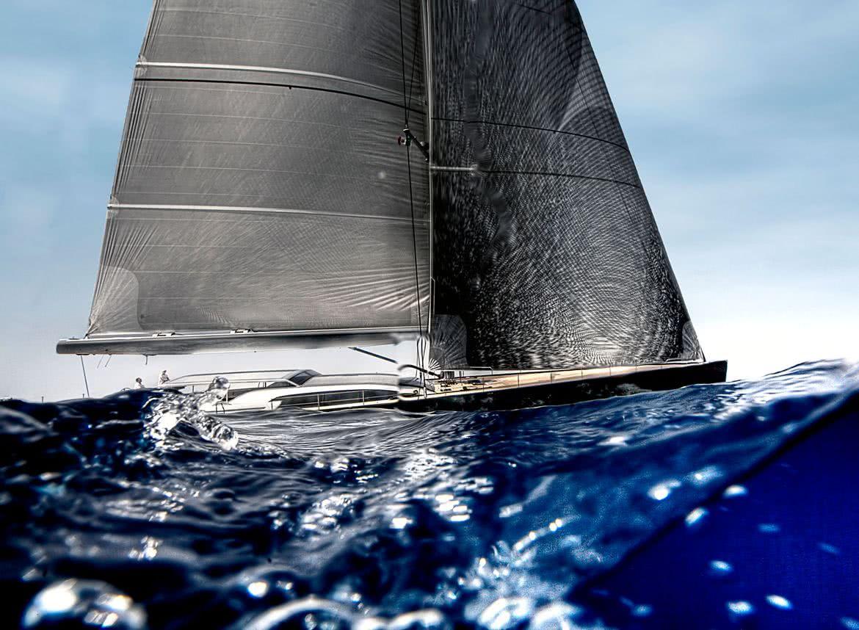 Saudade Yacht Wally Sail