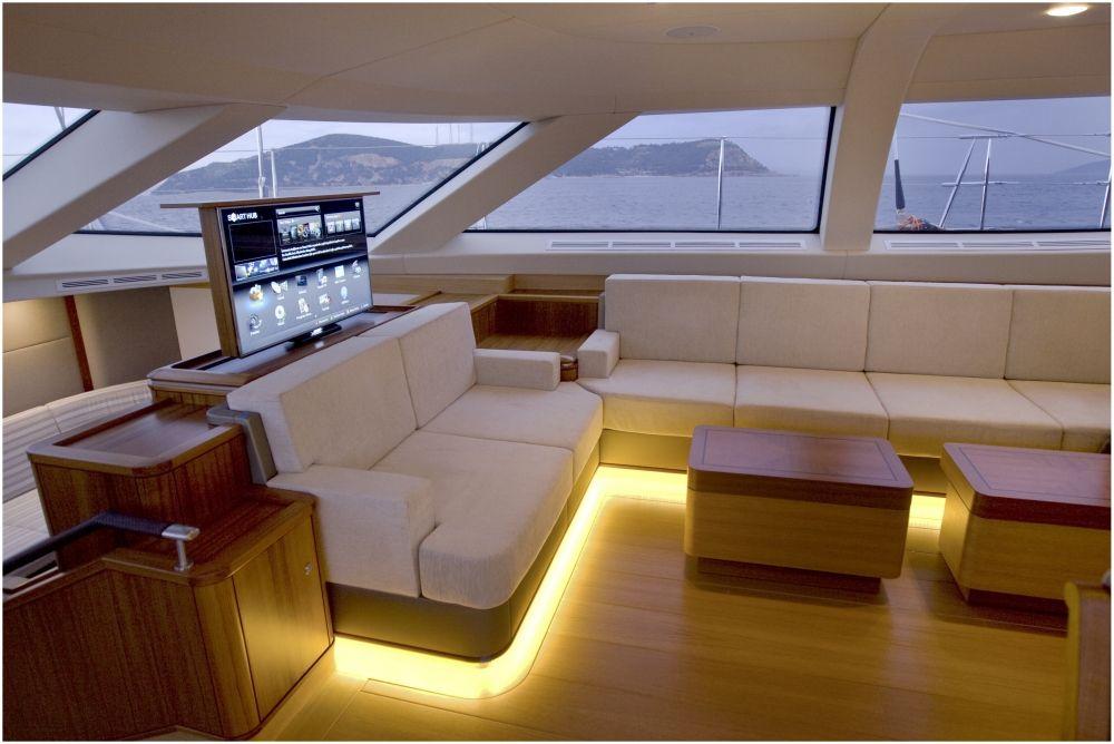Twilight Yacht Oyster 125 interior