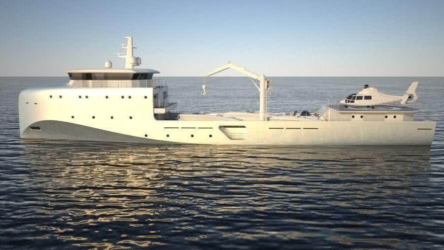 62m Support Vessel Van Geest Design