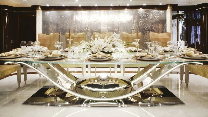 Diamonds are Forever Yacht Interior