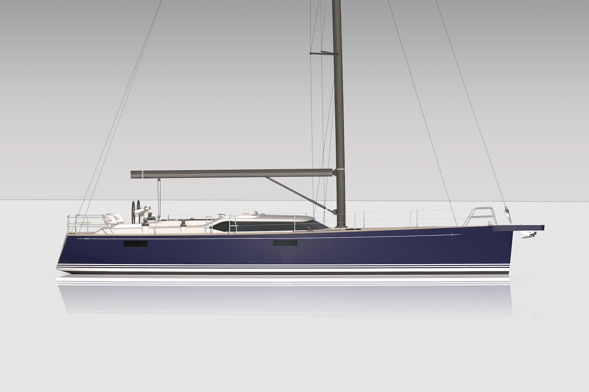 Contest 55 CS Sailing Yacht