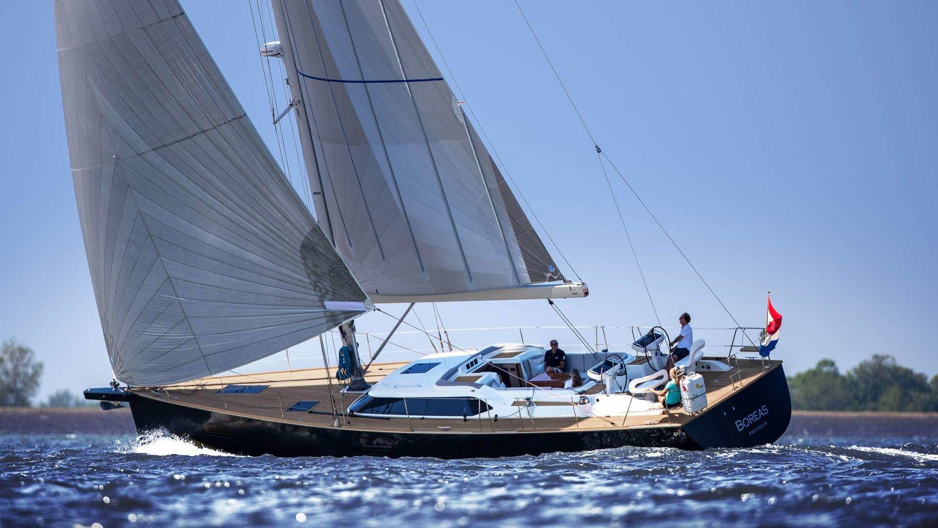 Contest 55 CS Sailing Yacht Interior