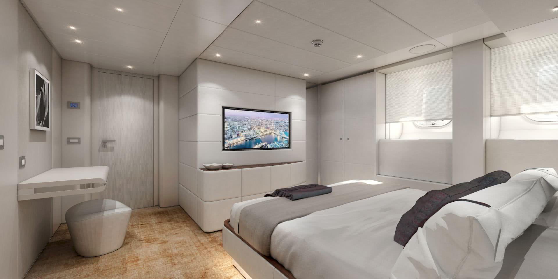 AMARE II Yacht Interior Design