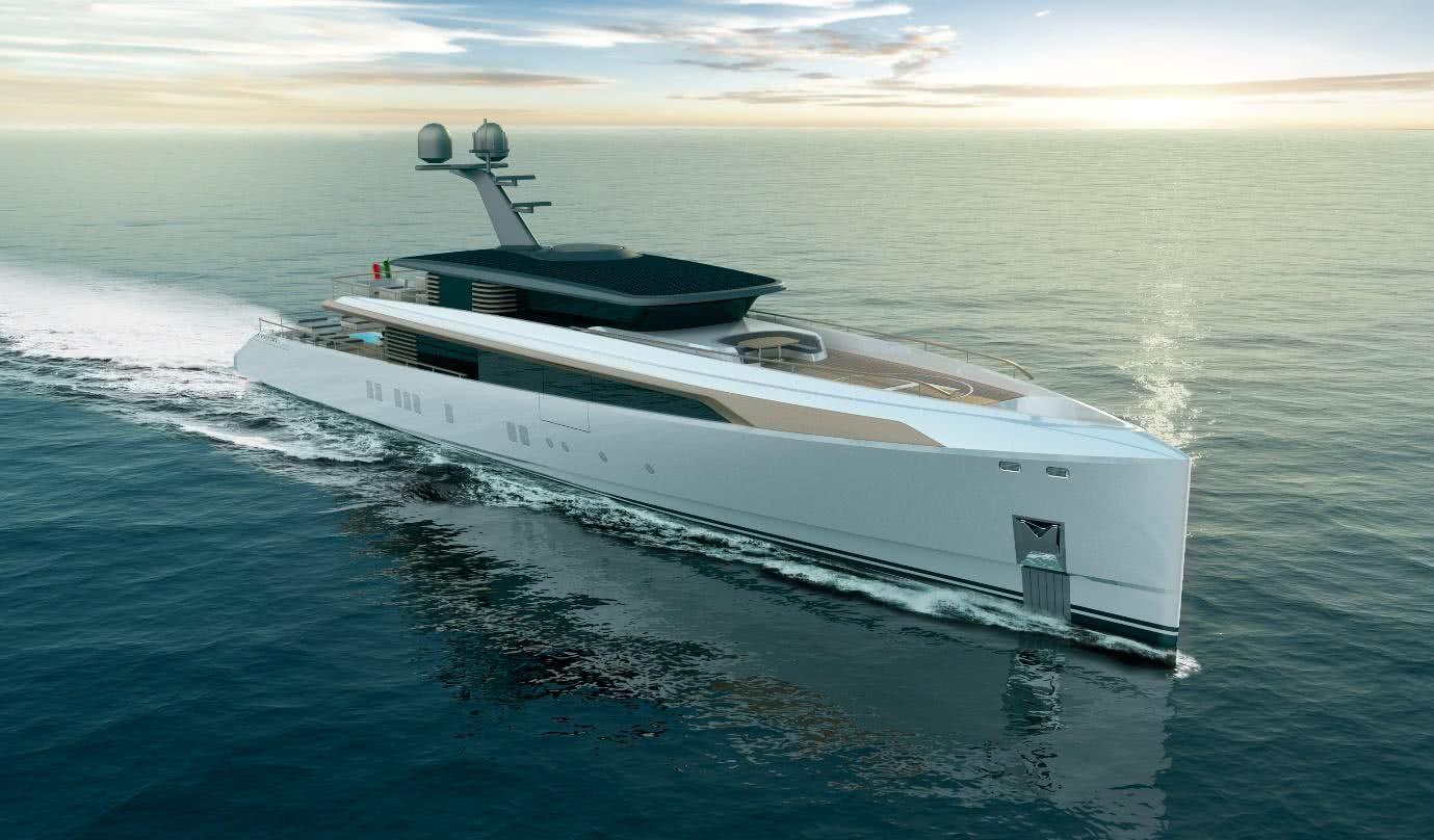 Giacomo Schiaroli Yacht Design Rossinavi Design Challenge