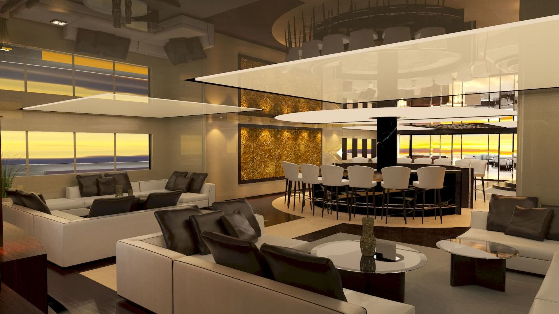 Koroni Aristotelis Betsis Yacht Interior Design