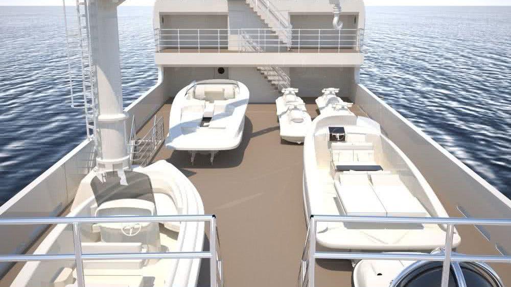 Load Deck Shadow Vessel